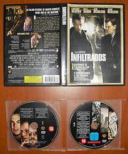 Infiltrados (The Departed) [2 DVD's] Leonardo DiCaprio,Matt Damon,Jack Nicholson