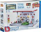 Bburago Gas Station & Car Pretend Toy Boys +3 Years