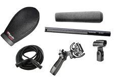 Sennheiser MKH416 w/ Rycote Super Softie, Rycote Lyre Pistol Grip & 6' XLR Cable