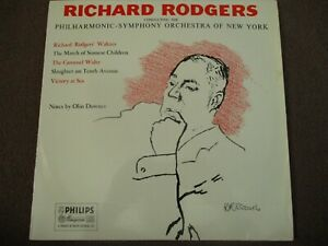 RICHARD RODGERS CONDUCTING THE PHILHARMONIC-SYMPHONY ORCHESTRA OF NEW YORK - LP