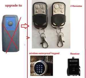 Dominator ADS DOM401/DOM503/ADS2B Garage Door remote receiver wireless keypad