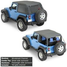 Smittybilt All In One Bowless Soft Top & Hardware Kit 07-17 2dr Jeep Wrangler JK
