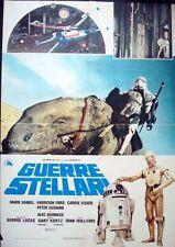 STAR WARS Italian 1F movie poster 26x38 1977 GEORGE LUCAS RARE