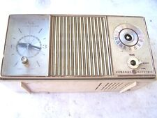 General Electric Solid State Clock Radio AM/FM Tabletop Model for parts only