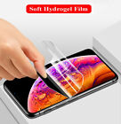 Full Cover Hydrogel Screen Protector iPhone 7 8 11 12 13 Plus XR XS Max iPad Pro