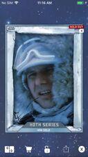 Topps Star Wars Digital Card Trader Hoth Animated Han Solo Insert Award