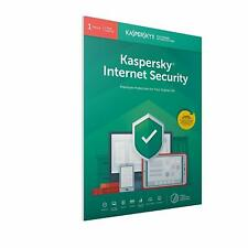Kaspersky Internet Security 2020 1 User Multi Device inc Antivirus Download Key
