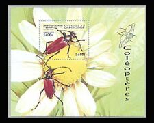 Cambodia, Sc #1747, MNH, 1998, S/S, Insects, Leptura rubra, A1SAIcx