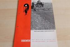 144447) Rabewerk Dreipunkt Vibrationseggen Prospekt 05/1968
