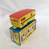 1970s.Matchbox Superfast.57.Trailer.Caravan.RV.Yellow,.Mint in box.original