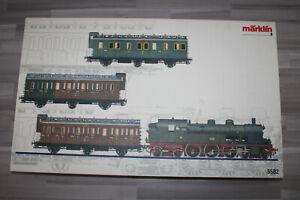 Märklin 5502 Digital Train Set With Steam T18 And Passenger Car Kpev Gauge 1 Ob