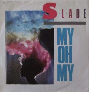 "SLADE - My Oh My ~ 12"" Single PS"