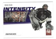 2012-13 Rookie Anthology Elite JONATHAN QUICK Intensity Acetate #38/500