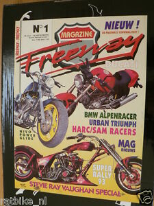 FREEWAY 01 FIRST ISSUE,DUCATI MONSTER,BMW ALPENRACER,STEVIE RAY VAUGHAN MEMORY