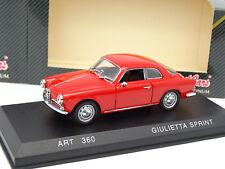 Detail Cars 1/43 - Alfa Romeo Giulietta Sprint Rouge