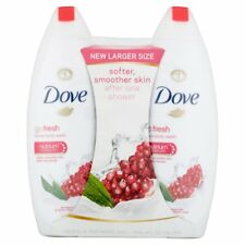 Dove go fresh Body Wash Pomegranate and Lemon Verbena 22 oz, Twin Pack
