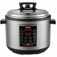 GoWise 14-Quart 4th-Generation Stainless Steel Electric Pressure Cooker