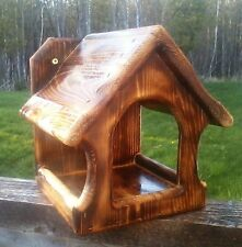 Cute square decorative, Dove or Robin cedar wood nesting shelf,The Birds Nest #2