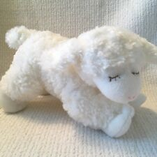 Baby Gund Winky White Lamb Sheep Plush Rattle Baby Boy or Girl Stuffed Animal