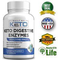 DIGESTIVE ENZYMES plus PREBIOTICS PROBIOTICS 60 Capsules Digestion Supplement