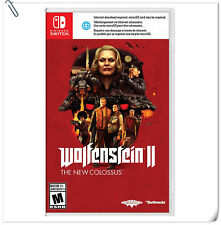 SWITCH Wolfenstein II: The New Colossus Nintendo Bethesda Shooting Games