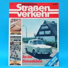 Der Deutsche Straßenverkehr 8/1987 Ribnitz-Damgarten Velorex 700 Bautzen F