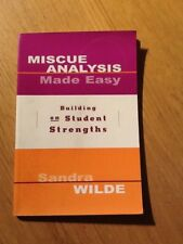 Miscue Analysis Made Easy: Building on Student Str... by Wilde, Sandra Paperback