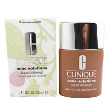 CLINIQUE Acne Solutions Liquid Makeup ~ Fresh Cream Caramel ~ 30ml ~ Brand New
