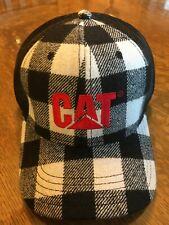 NWT CAT  plaid hat cap  A19