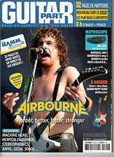 "GUITAR PART #192 ""Airbourne,Stereophonics,Soma,N.Faulkner,Gush,Anvil""(REVUE+DVD)"