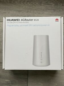 Huawei B528s-23a 4G LTE Modem Router - White, Used with original box