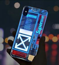 iPhone 11 hypebeast LED case cover, new