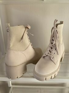 NEW Steve Madden Zanet Color Sand Size 9.5 Booties Boot