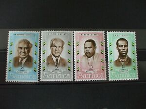 JAMAICA-1970 National Heros part Set of 4vs MNH Cat 0.65 (1G4)