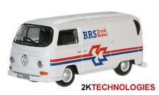 Oxford 76VW018 VW T2 Bay Window Van BRS White 1/76 Scale 00 Gauge T48 Post