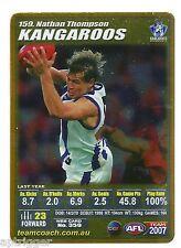 2007 Teamcoach Gold (159) Nathan THOMPSON Kangaroos
