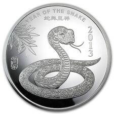 10 oz Silver Round - APMEX (2013 Year of the Snake) - SKU #71914
