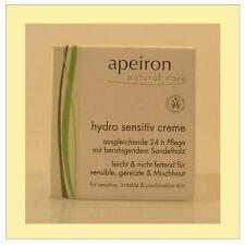 (43,60/100ml) Apeiron Hydro Sensitiv Creme 50 ml
