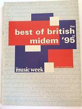 MUSIC WEEK MAGAZINE  28 JANUARY 1995 SUPPLEMENT  MIDEM '95 SUPPLEMENT   LS