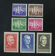 CKStamps: Belgium Stamps Collection Scott#B579-B585 Mint H OG