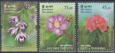 Sri Lanka New Issue 13-12-2019 (Set) Flowers