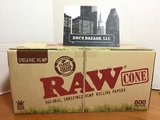 32 Pack King Size Raw Rolling Papers Organic Hemp Cone ~ FB DNC's Bazaar