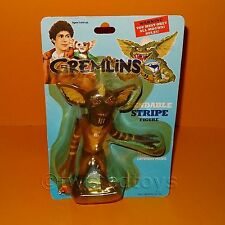 "VINTAGE 1984 LJN TOYS GREMLINS BENDABLE STRIPE 6"" ACTION FIGURE MOC CARDED RARE"