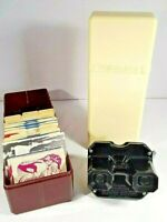 Vintage Sawyers View-Master 3D Stereoscopic Viewer+ 34 reels ***Free shipping***