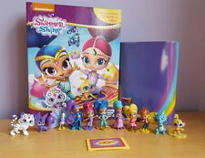 Shimmer and Shine My Busy livre +12 caractère figurines & Playmat