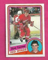 1984-85 OPC # 67 RED WINGS STEVE YZERMAN  ROOKIE EX-MT CARD (INV# D0065)