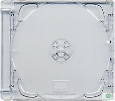 CD Super Jewel Box 10.4mm, 1 or 2 Disc, Super Clear Tray Replacement Case