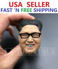 1/6 Scale Bendable Metal Glasses Spectacle Frame Accessories for 12