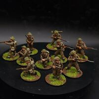 Well Painted 28mm Bolt Action British infantry (plastic) ×10 squad #4 ww2