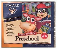 Millie and Bailey Preschool PC/Win/Windows/Mac Brand New Sealed - Win10, 8, 7